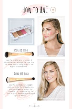 Creams beautifully melt into the skin, but using the right brushes makes a huge difference. Use the B Squared Brush to blend everything into perfection & the Detail HAC Brush to give yourself the illusion of a face lift! Beauty Make-up, Beauty Makeup Tips, Beauty Secrets, Beauty Hacks, Hair Beauty, Beauty Products, Skin Secrets, Skin Tips, Beauty Ideas