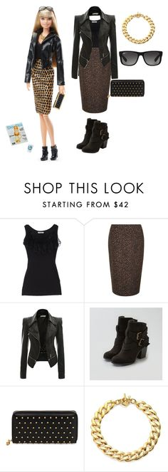 """""""get barbies look"""" by ambervin ❤ liked on Polyvore featuring Le Ragazze Di St. Barth, Hobbs, American Eagle Outfitters, Alexander McQueen, Michael Kors and Ray-Ban"""
