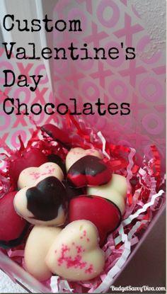 Custom Valentine's Day Chocolates Recipe