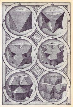 Aer (b) - Perspectiva Corporum Regularium - Wenzel Jamnitzer 1568 | Flickr – Condivisione di foto!