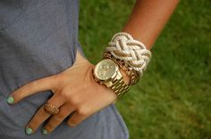 bracelet and watch