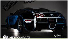 Flo Rida's Tron-Bugatti | automotive99.com
