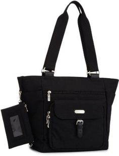 Baggallini Town Tote- Solid Nylon Crinkle $53.07