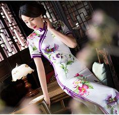 chinese dress red cheongsam dress            https://www.ichinesedress.com/