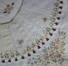 I ❤ crazy quilting & embroidery . . .  CQI Stitching Only for Jackie ~By Ritva Peltola