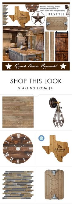 """""""Ranch House Remodel * Decor"""" by calamity-jane-always ❤ liked on Polyvore featuring interior, interiors, interior design, home, home decor, interior decorating, Bradburn Gallery, WALL, Arthur Court Designs and homedecor"""