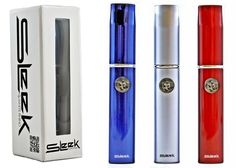 The Sleek Vaporizer Pen by popular vaping company White Rhino is an excellent one touch pen vaporizer for your waxy oils. The Sleek Vaporizer comes with rechargeable battery and necessary cartridge/atomizer for convenient operation.