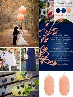 Trending Navy Blue Wedding Color Ideas for Fall 2014
