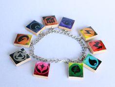 Pokemon Energies Inspired Scrabble Tile Charm by HoneysuckleRoseC
