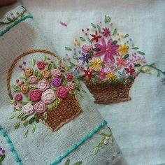 #Embroidery#stitch#needle work #프랑스자수#일산프랑스자수#자수#자수타그램#자수소품 #축하 꽃다발을 보내야지^^~