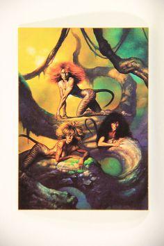 L011006 Boris Vallejo 1992 Card / Hebat - 1990 - Card #9 / ARTWORK