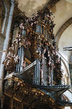 Santiago de Compostela (España). Órgano de la Catedral.