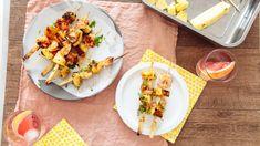 Shrimp Recipes, Fish Recipes, Appetizer Recipes, Appetizers, Shrimp Dishes, Homemade Crab Cakes, Shrimp Skewers, Kabobs, Fresh Peach Cobbler