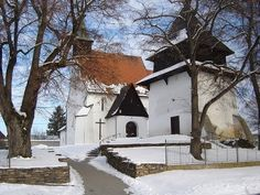 Mikuláša v Sliači, ranná gotika Gothic, Cabin, House Styles, Home Decor, Goth, Decoration Home, Room Decor, Cabins, Cottage