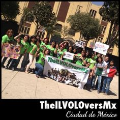GRACIAS a TheILVOLOversMx Ciudad de México por este día tan maravilloso!   SIGAMOS CRECIENDO!   En México somos AMOR!