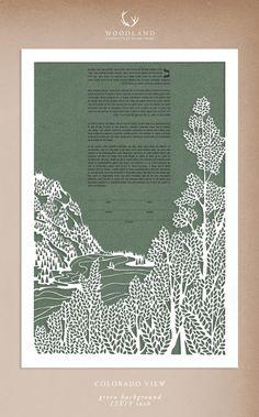 Papercut Ketubah by Woodland Papercuts - so beautiful!