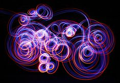 Reminds me of LED Hoop Photos - Light painting by Steven Meyer-Rassow Movement Photography, Light Painting Photography, Abstract Photography, Artistic Photography, Night Photography, Color Photography, Digital Photography, Photography Lighting, Levitation Photography