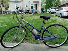 #Schwinn #Sierra 700 #Bicycle #21Speed Blue/Gray #ForSale #SportingGoods - #KansasCity, KS at #Geebo Bicycles For Sale, Kansas City, Blue Grey