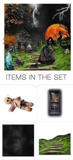 """Did you know ghosts all dance at midnight?"" by brandileek ❤ liked on Polyvore featuring art"