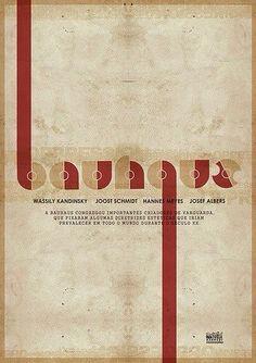 Wassily #Kandinsky - Joost #Schmidt - Hannes #Meyes - Josef #Albers - Bauhaus Movement  #Poster