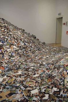 Erik Kessels photo flood: printed images uploaded to Flickr in 24hr period.