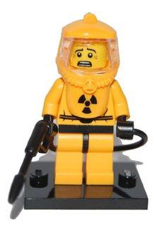 Lego Minifigure Series 4 (8804): Hazmat Guy