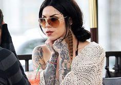 Tattoo Model - Kat Von D   www.worldtattoogallery.com/tattoo-models-gallery