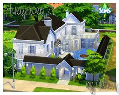 Sims 4 Updates: All 4 Sims - Build / Walls / Floors, Houses and Lots, Residential Lots : Houses and walls by Oldbox, Custom Content Download!
