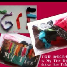 My ties Friday special gift pack prefect stocking stuffer!! Www.mytieslc.com