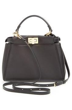 Current favorite. Fendi 'Mini Peekaboo' Nappa Leather Bag available at #Nordstrom