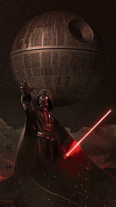 Iphone Wallpapers Dark - Darth Vader Death Star Empire Star Wars Sith Dark Side Anakin Skywalker The Chos. Star Wars Fan Art, Star Wars Film, Star Wars Dark, Star Trek, Star Wars Pictures, Star Wars Images, Poster S, Star Wars Poster, Darth Vader Death