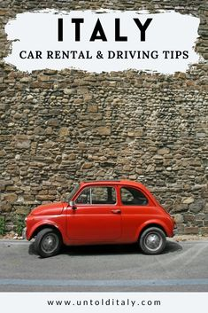 Things To Do In Italy, Places In Italy, Italy Vacation, Italy Travel, Road Rules, Italian Lakes, Florence Tuscany, Driving Tips, Renting
