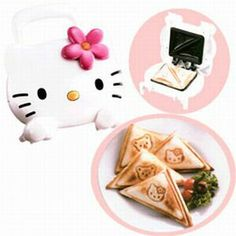 Hello Kitty kitchen toastie maker I have this ! love it Trisha