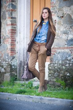 Once upon a time.. - Fashion Blog by Eleonora Pellini: Steak look