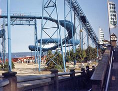 Avalanche Run Cedar Point 1985