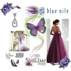 Love at First Sight, Sponsored by Blue Nile, created by mimi-gan on Polyvore