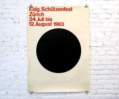 Eidg. Schützenfest Zürich (Swiss Federal Shooting Festival) – Fridolin Müller, 1963