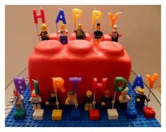 *Rook No. 17: recipes, crafts & whimsies for spreading joy*: EASY LEGO CAKE -- A Piece of LEGO That's a Piece of Cake!