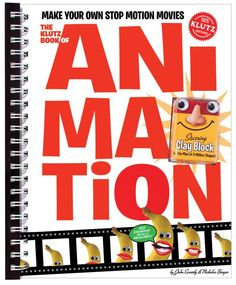 Instruction on how to make animated movies.
