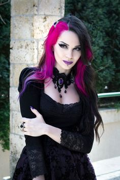Model: Milena Grbović Necklace: Sardonyx Lace Hairclip: Gothic Elegance Clothes: Villena Viscaria Clothing Welcome to Gothic and Amazing |www.gothicandamazing.org