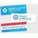 Request a free Democrat bumper sticker.