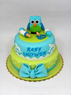 torta baby shower maschietto