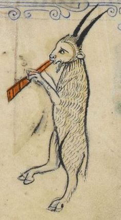 """Detail from """"The Rutland Psalter"""", medieval (c1260), British Library Add MS 62925. f 49v"""