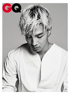 Tae Yang - GQ Magazine July Issue '14