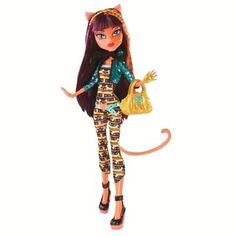 Boneca Monster High Freak Fusion Cleolei Mattel - Cleolie - R$ 129,00 no MercadoLivre