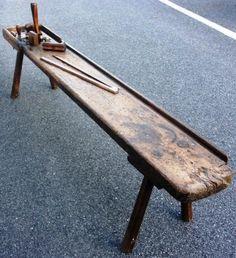 19th century sailmaker bench.