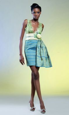 Africa Meets Japan: The Deola Sagoe Fall 2011 Ori Oke Collection African Inspired Clothing, African Print Fashion, African Fabric, African Dress, African Outfits, Afro, African Design, African Style, Haute Couture Fashion