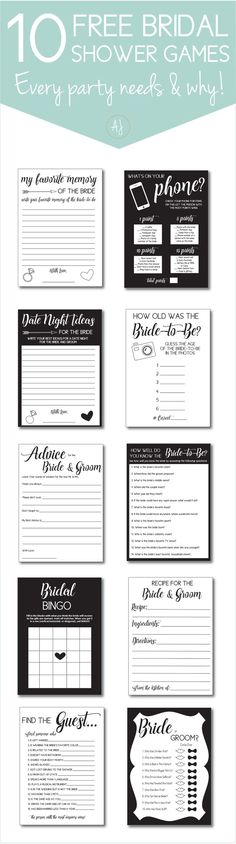 Free bachelorette or bridal shower party games and why you need them. Click through to find matching games, favors, thank you cards, inserts, decor, and more. Or shop our 1000+ designs for all of life's journeys. Weddings, birthdays, new babies, annivers