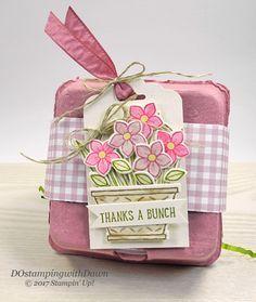 Stampin' Up! Egg Carton & Basket Bunch Bundle shared by Dawn Olchefske #dostamping