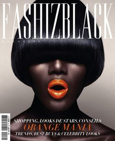Rama Diouf for French #Magazine #Cover FASHIZBLACK